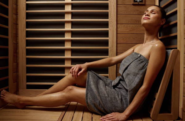 Infrared Sauna sessions available at Wallaceburg Wellness Centre